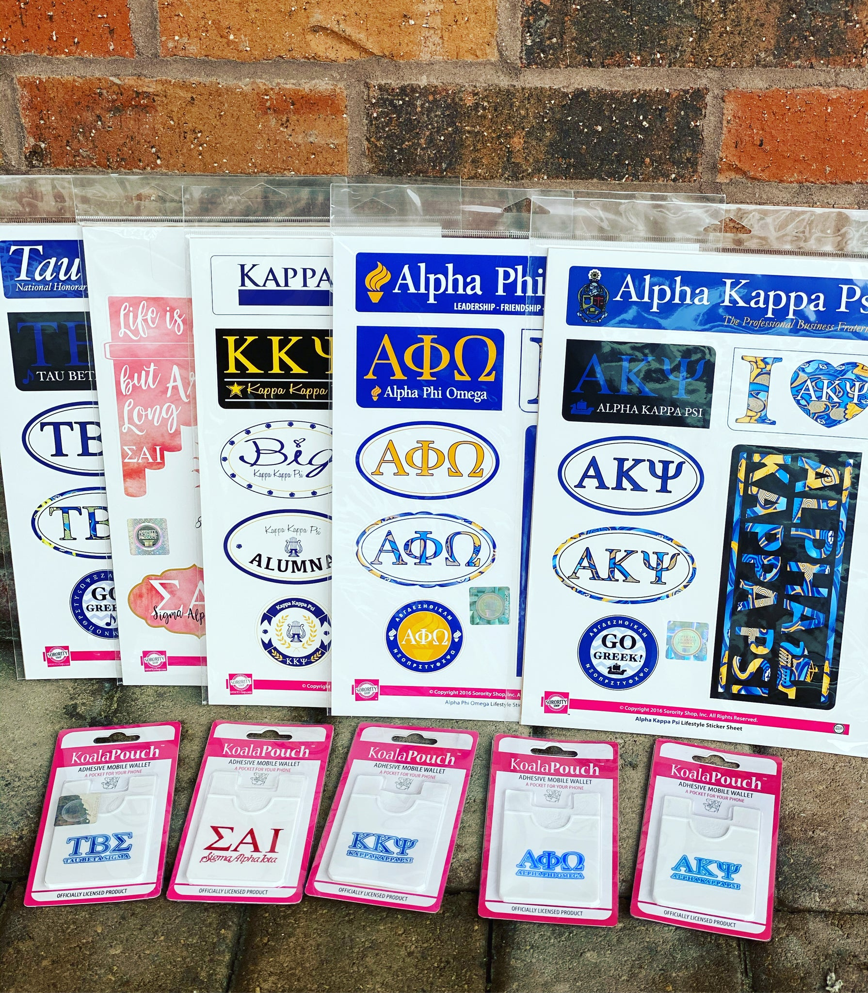 Sorority Gifts - MG & SG Card Holder or Stickers