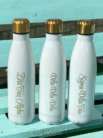 Sorority Gifts - Sorority Swell with gold script