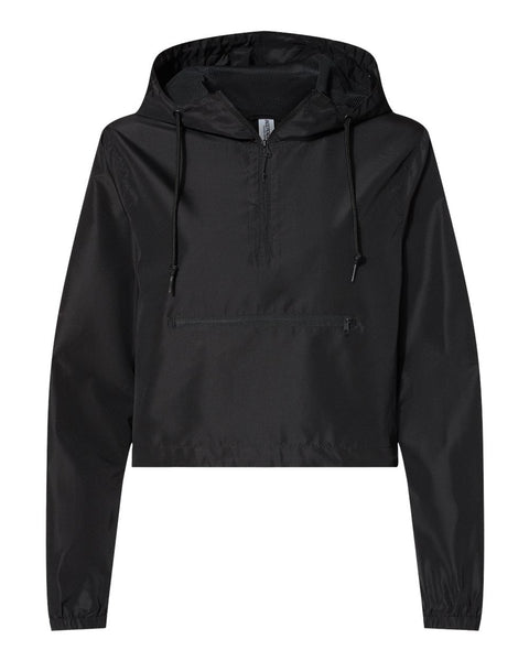 Whitney Windbreaker Lightweight Crop Jacket