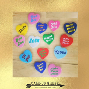 Sorority Gifts - Heart Shaped Pin