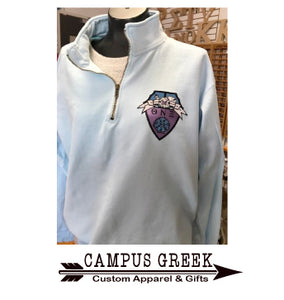Theta Nu Xi - Comfort Colors Quarter Zip