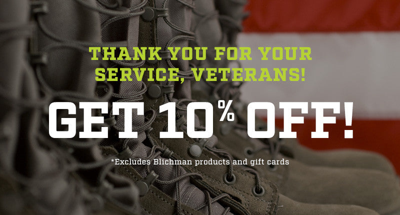 Veterans Receive 10% Off Every Day!