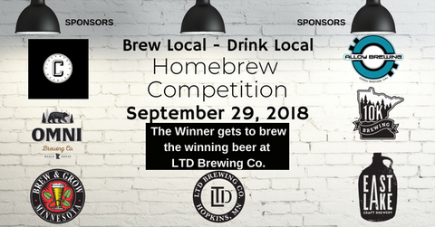1st Annual Brew Local - Drink Local Homebrew Competition