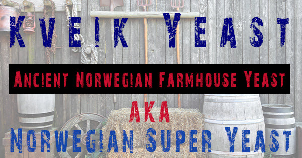 Kveik Ancient Norwegian Farmhouse Yeast