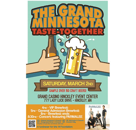 The Grand MN Taste-Together Brewfest at the Grand Casino in Hinckley