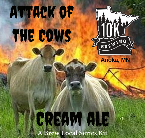 All Grain Kit 10K Brewing Attack of the Cows Cream Ale