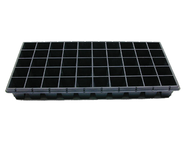 11.5 x 22.25 Inch Black Cell Trays