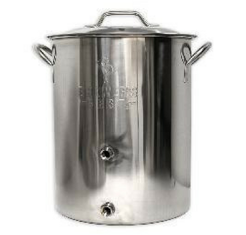 16 Gal Brewer's Best BASIC Brewing Kettle w/2 Ports