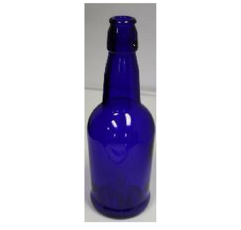 16 OZ COBALT BLUE E.Z. CAP BOTTLE