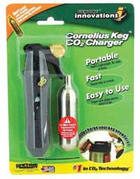 Portable CO2 Keg Charger