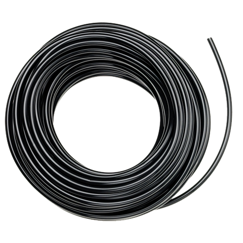 1/4 Inch Black POLY Tubing - 50 Feet