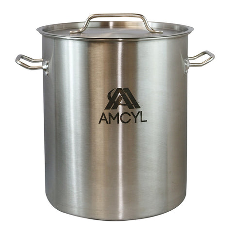 AMCYL SS 8 gallon Kettle/Lid