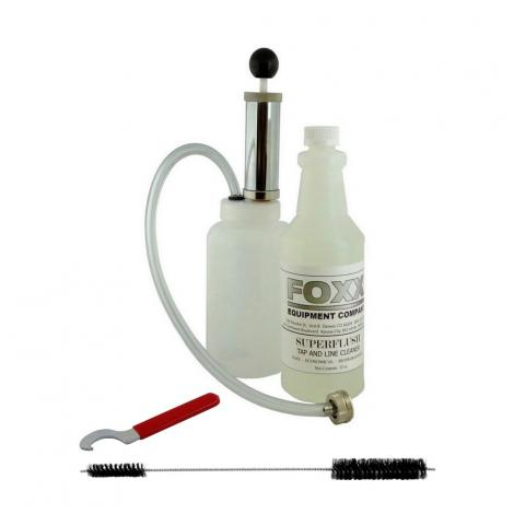 Hand Pump Line Cleaning Kit w/Wrench, Brush and Cleaner