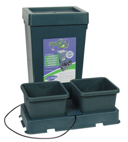 2 Pot Easy 2 Grow Kit with Reservoir