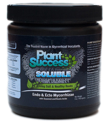 Plant Success® Soluble Mycorrhizae 4 Ounce