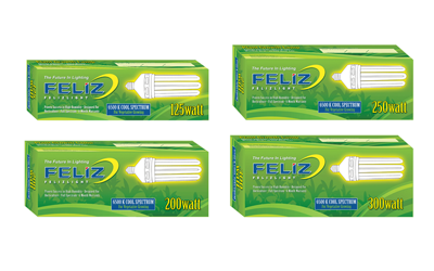 Feliz BLUE Compact Fluorescent Grow Lamp (CFL)