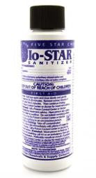 Five Star IO-Star Iodophor Sanitizer 4 oz