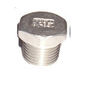 "1/2"" Stainless Steel NPT Plug"
