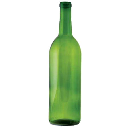 750 ml Green Claret Bottle