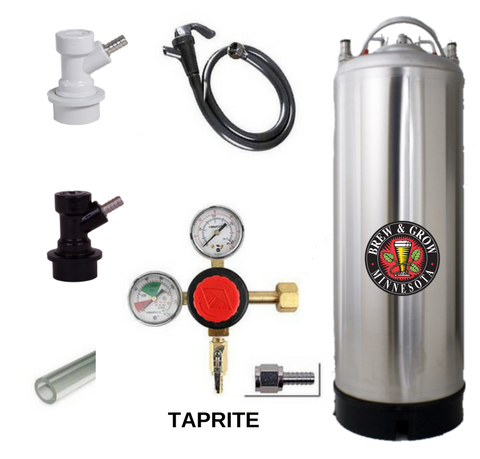 Brand New Single Keg System with American Made Taprite Regulator