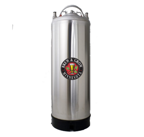 AMCYL Stainless Steel Strap Handle Keg (Brand New)