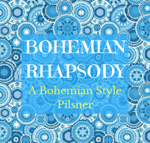 Bohemian Rhapsody Pilsner Extract with Grains Kit