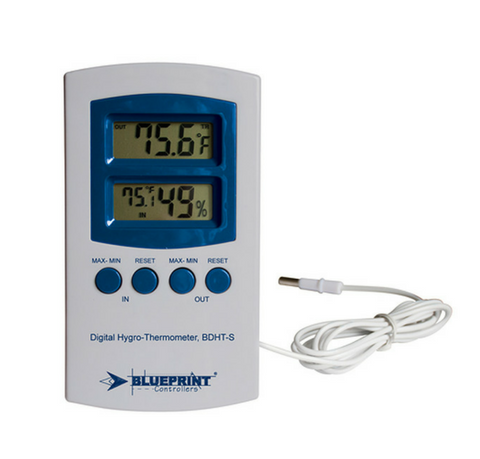 Digital HygroThermometer Small Blueprint Controllers®