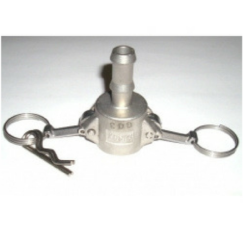 "1/2"" Stainless Steel Camlock C Style Quick Disconnect"
