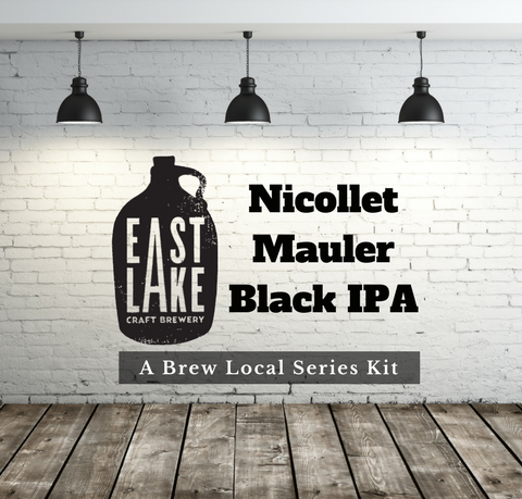 All Grain Kit Eastlake Craft Brewery Nicollet Mauler Black IPA