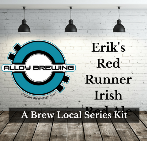 Alloy Brewing Co. Erik's Red Runner Irish Red Ale Extract w/Specialty Grains Kit Available starting Sat. Nov. 18th