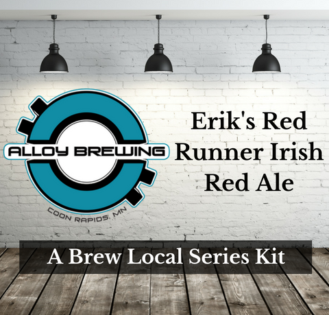 All Grain Kit Alloy Brewing Co. Erik's Red Runner Irish Red Ale