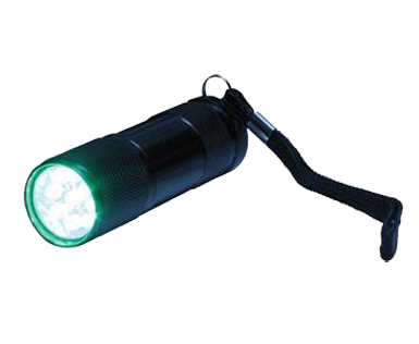 Green Eye LED Compact Flashlight