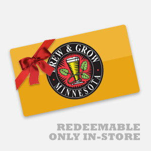 Gift Card - Redeemable Only In-Store