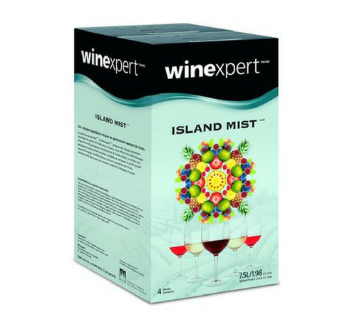 Island Mist Wine Kit Raspberry Peach Sangria