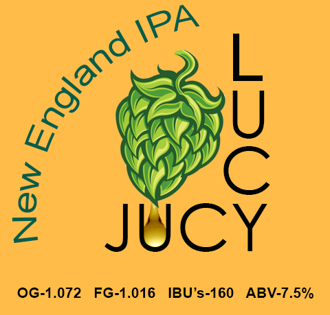 Jucy Lucy New England IPA Brewing Extract Kit