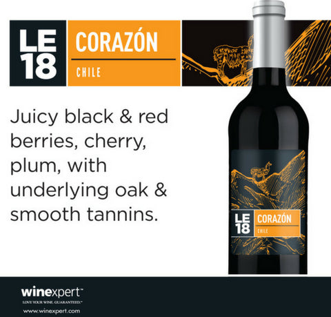 Wine Kit Limited Edition 2018 Corazon Winexpert