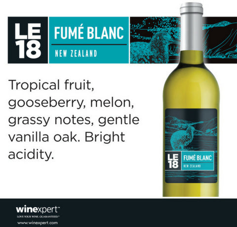 Wine Kit Limited Edition 2018 Fume Blanc Winexpert