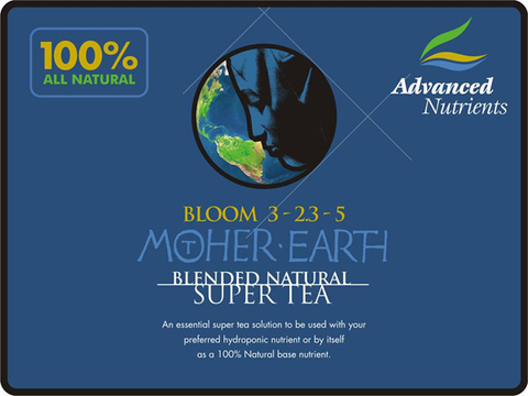 Mother Earth Organic Tea Bloom 4 Liter