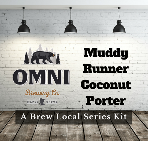 OMNI Brewing Co. Muddy Runner Coconut Porter Extract with Specialty Grains Kit