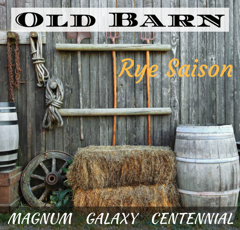 Old Barn Rye Saison Extract with Grains Kit