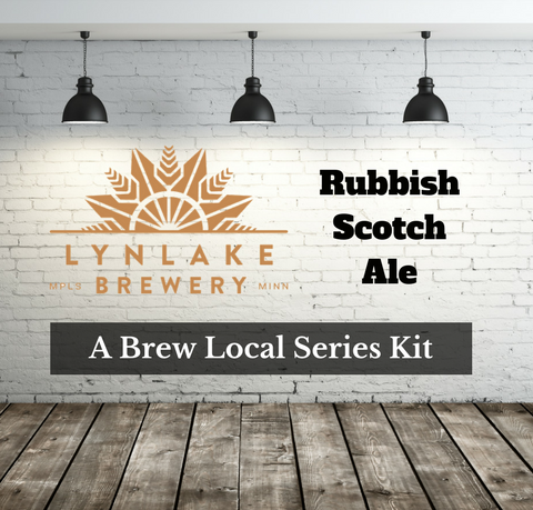 LynLake Brewery Rubbish Scotch Ale Extract with Specialty Grains Kit