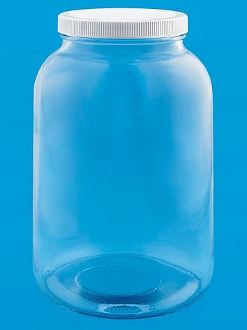 1 Gallon Glass Jar with Plastic Lid