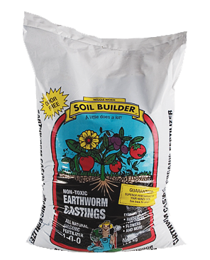 Soil Builder Earth Worm Castings - 30 Pounds
