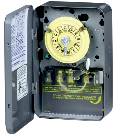 T104 Timer with Metal Case - 208-277 Volt