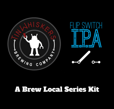 Brew Local Series Tin Whiskers Flip Switch IPA All Grain