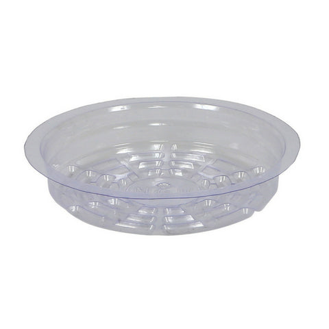 Clear Premium Saucer 6 Inch