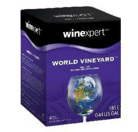 Chilean Merlot 1 Gallon Wine Kit World Vineyard