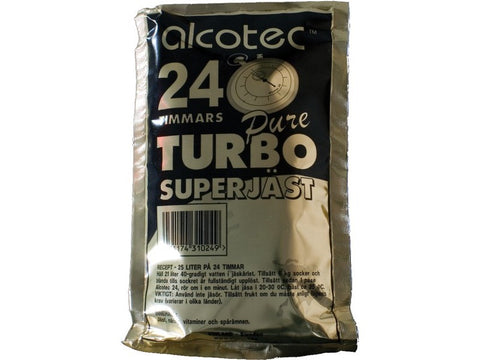 Alcotec 24 hr Turbo Yeast