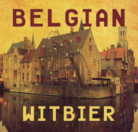 Belgian Witbier Ale Brewing Extract Kit