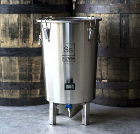 SS Brew Bucket BME 7 Gallon Conical Fermenter SS Brewtech